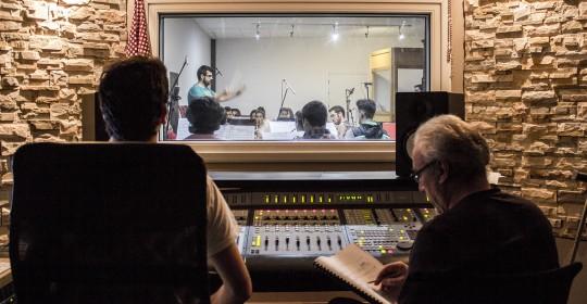La Trinidad Sinfónica en el estudio